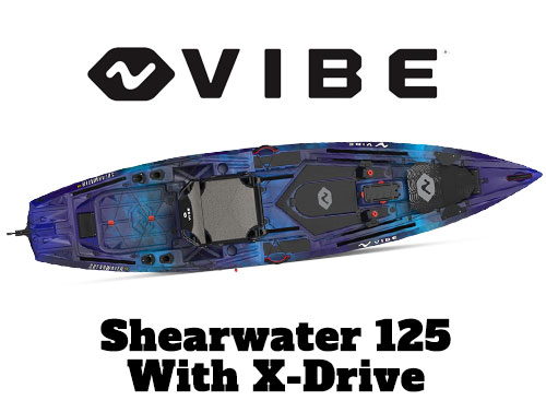 Vibe Shearwater Fishing Kayak Tournament