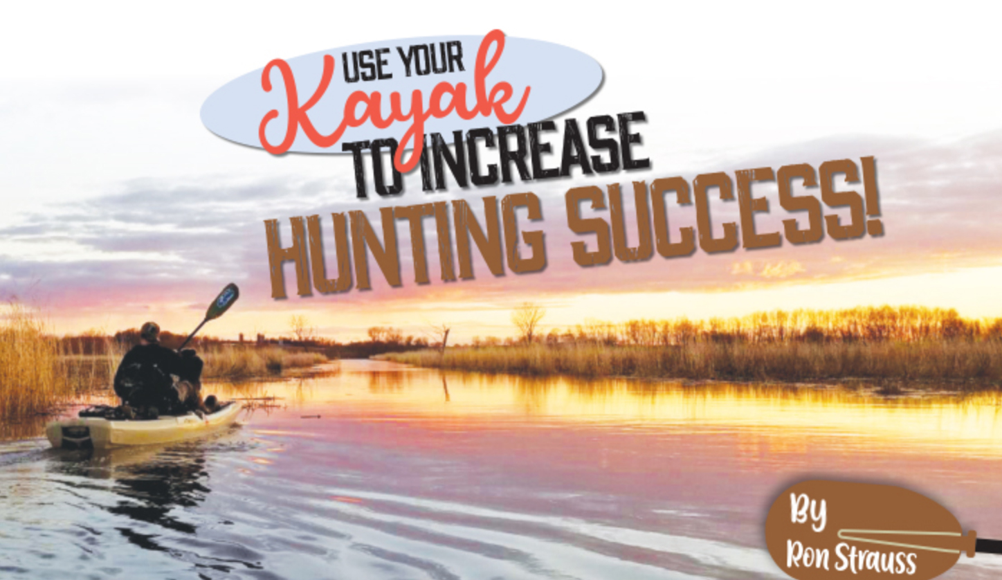 Use A Kayak For Hunting
