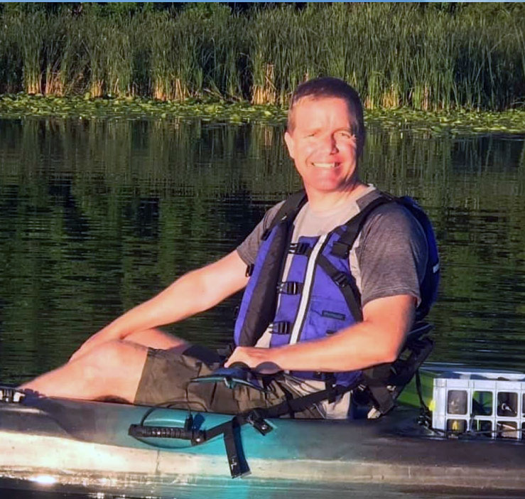 Tom Kayak Fishing