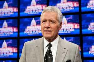 Alext Trebek Jeopardy host