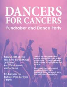 Dancers for Cancers 2019