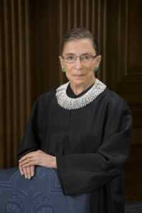 Justice Ruth Bader Ginsburg