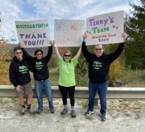 Terry's Team Virtual Walk