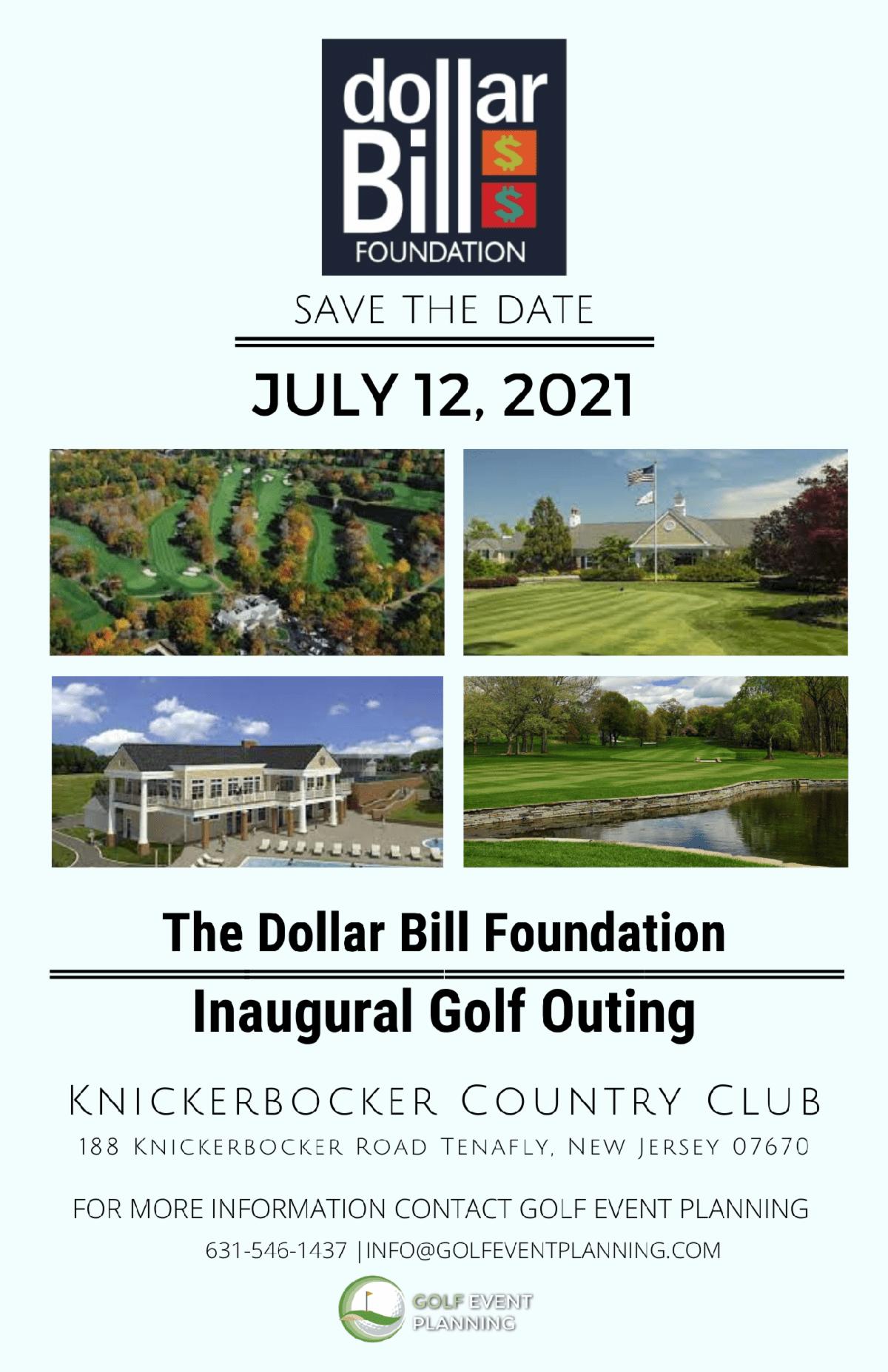 Dollar Bill Foundation Golf Outing 2021