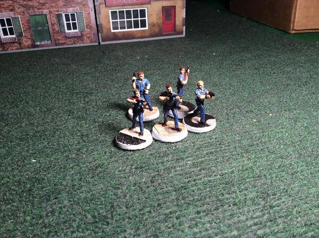 Armourcast Cops - Miniatures