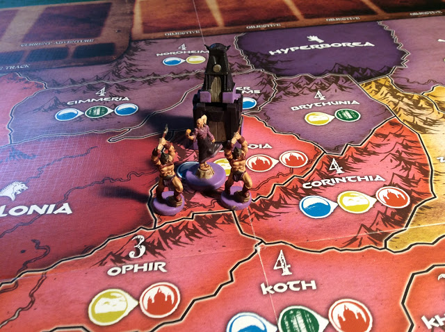Age of Conan The Strategy Game Board Game - Painted Miniatures