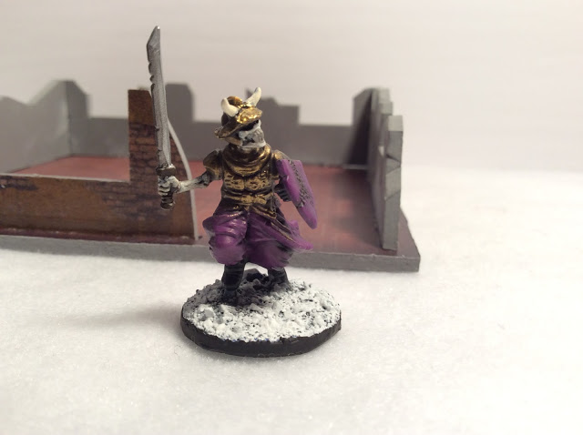 Frostgrave Skeletons and Prizes from the Flames of War Tournament