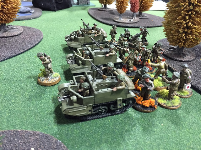 28mm British Carrier Section - Bolt Action 600 Point Army