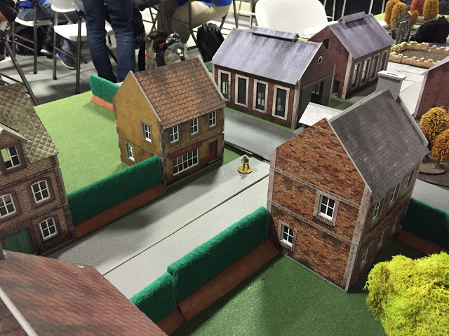 PlastCraft Games Houses in use for Bolt Action - 28mm Terrain
