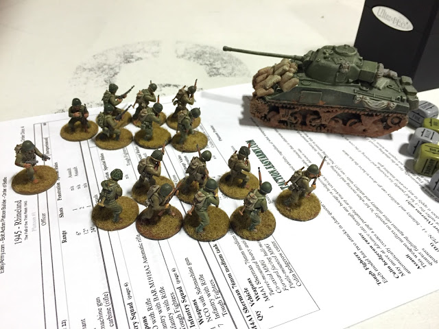 American 600 point army