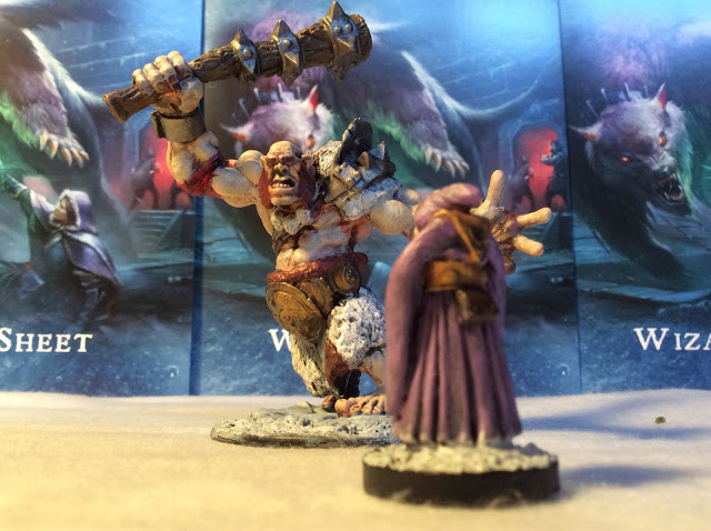 Frostgrave Creatures and The Behemoth