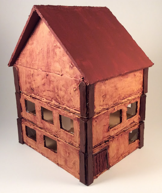 Scratch Built 28mm House