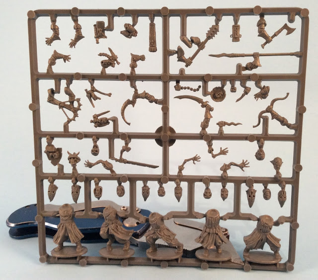Frostgrave Cultists Sprue