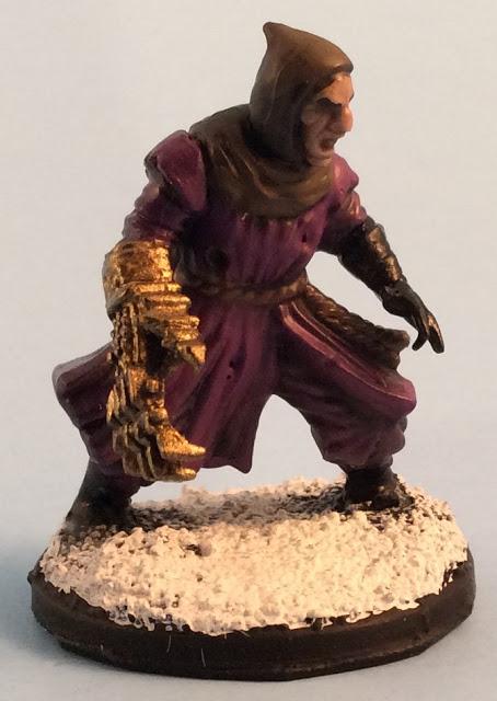 Frostgrave Treasure Hunter / Thief - Frostgrave Plastic Cultists Review