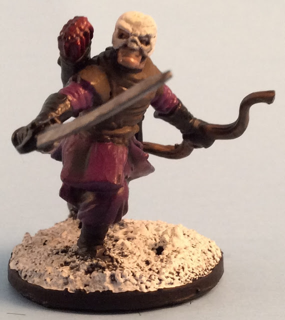 Frostgrave Cultist Ranger / Bowman - Frostgrave Plastic Cultists Review