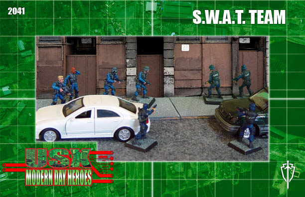 RAFM S.W.A.T. Team Review and Showcase