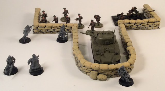 Review: 28mm Sandbags by 6 Squared Studios