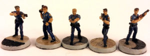 Armorcast Tactical Miniatures Rookie Cops Review and Showcase