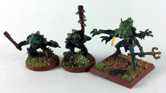 Reaper Bones Spikeshell Warriors and Tiik Baron – Showcase and Review