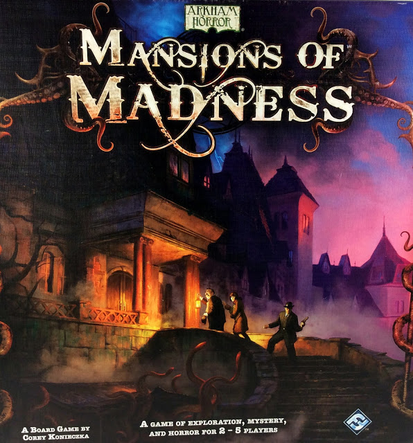 Review and Showcase: Mansions of Madness – First Edition