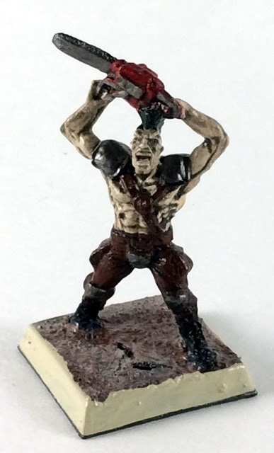Post Apocalyptic Warrior - 32mm Miniature - RAFM - USX Modern Day Heroes