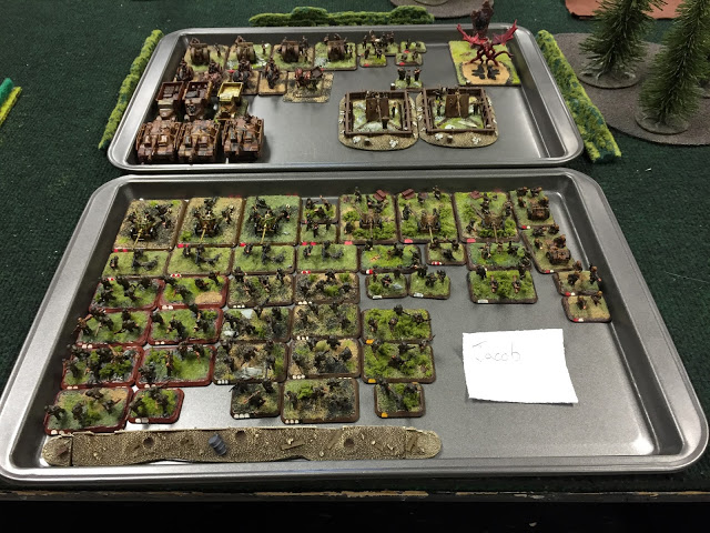 Painted Flames of War Tournament Army