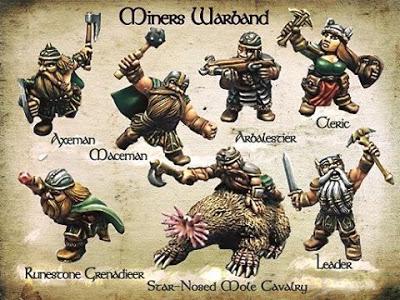 Dwarf Minis