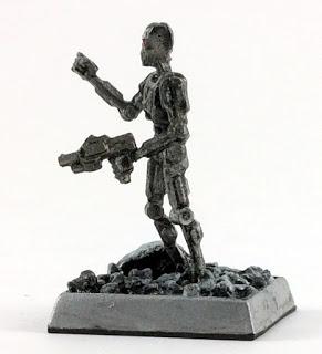 A Terminator Like Miniature by Reaper Miniatures