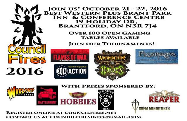 Local Gaming Convention - Brantford Ontario