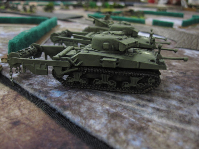 Sherman Crabs for Flames of War