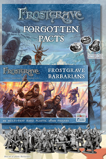 Frostgrave Nickstarter Rewards