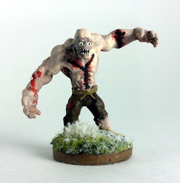 Showcase: Flesh Golem by Reaper Miniatures