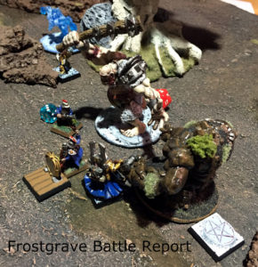 Frostgrave: The Well of Dreams and Sorrows Battle Report