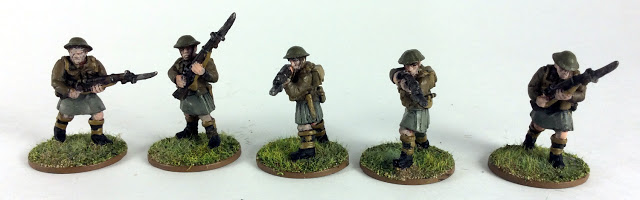 Review: Highland Infantry Rifles by Pulp Figures (Alternative Figures for Bolt Action)