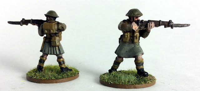 I will be using these guys as British Commandos in Bolt Action and Konflikt '47