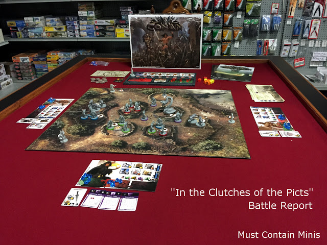 Conan Battle Report – In the Clutches of the Picts