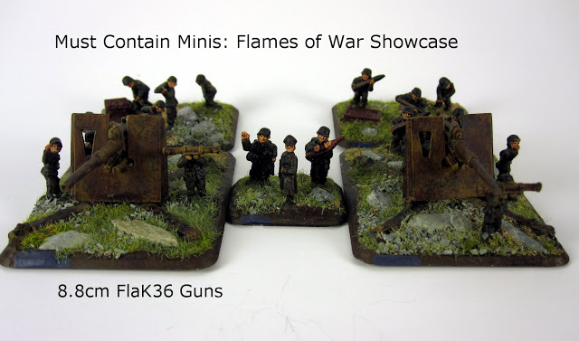 German Guns for Flames of War