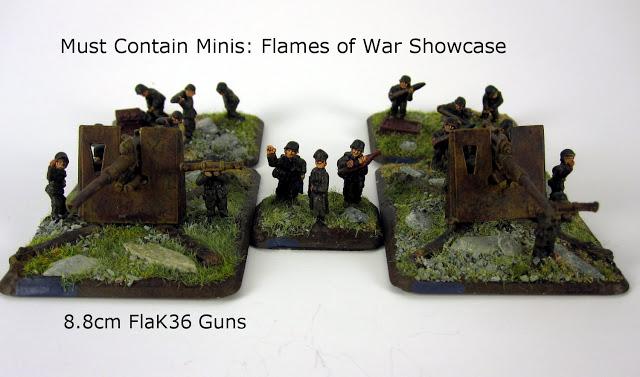 Showcase: German 8.8cm FlaK36 Guns for Flames of War