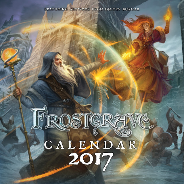 Review: Frostgrave 2017 Calendar