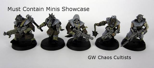 Showcase: GW Chaos Cultists
