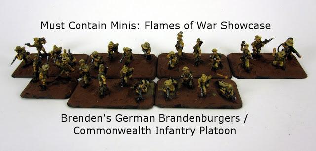 Flames of War Showcase: Brenden's Brandenburgers