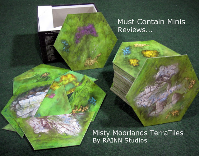 Terrain Review for 15mm and 28mm miniatures on Terra Tiles