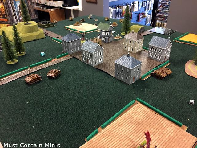Flames of War Tournament - Battle Report