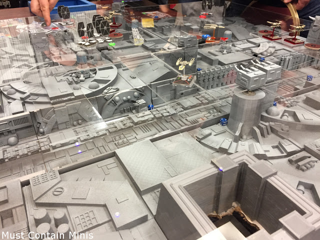 Gaming over the Death Star