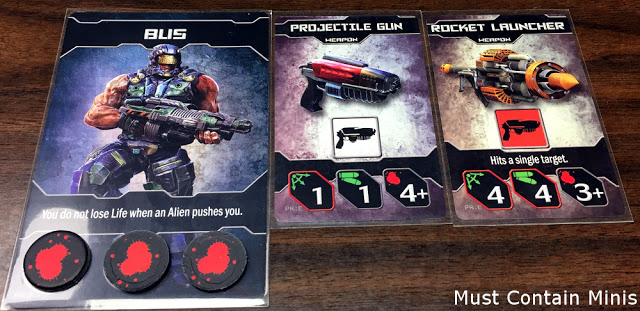 Project Elite Character Cards