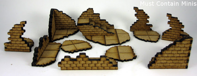 MDF 28mm Terrain / building for WW2 and Fantasy