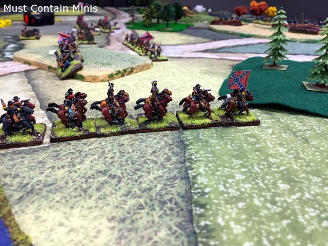 Playing Longstreet on a Cigar Box Battle Mat