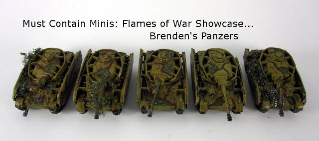 Flames of War Showcase: Brenden's Panzer IVs