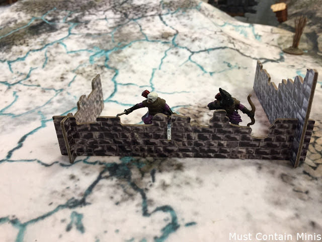 TerraTiles Ruins in use with Frostgrave