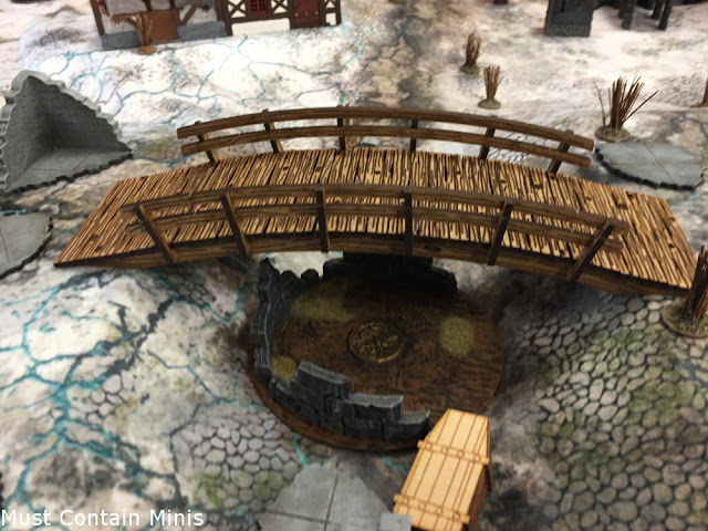 Amazing MDF Terrain for Frostgrave - miniature wargaming